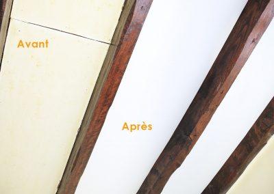 recouvrir plafond toile